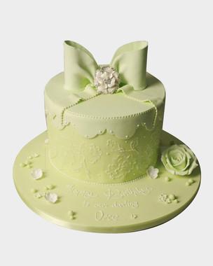Pretty Bow Cake CL3256