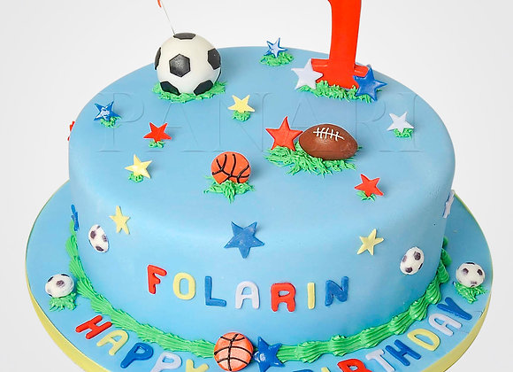 First Birthday Cake CB3907