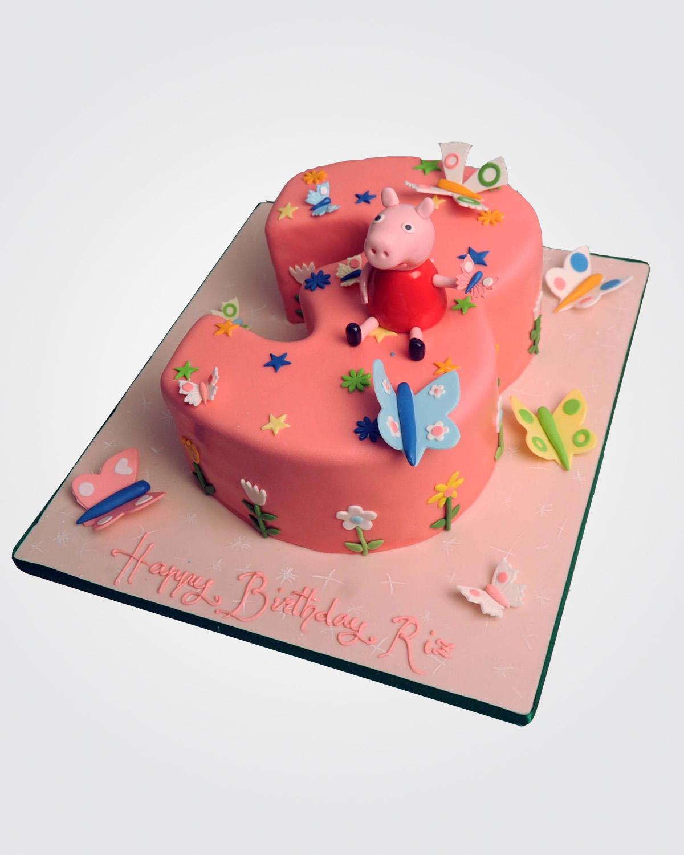 Peppa Pig Cake  PE1591