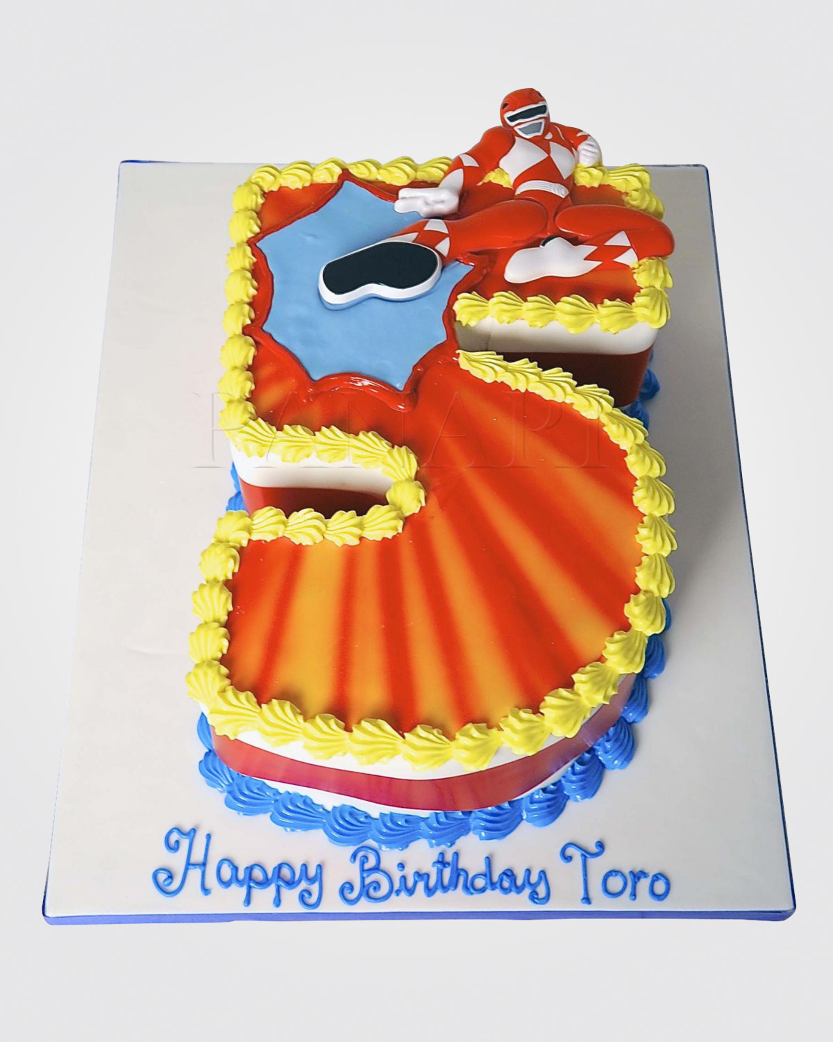 Power Rangers Cake SP3487