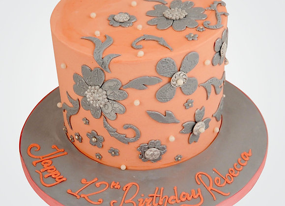 Floating Florals Cake CG6223