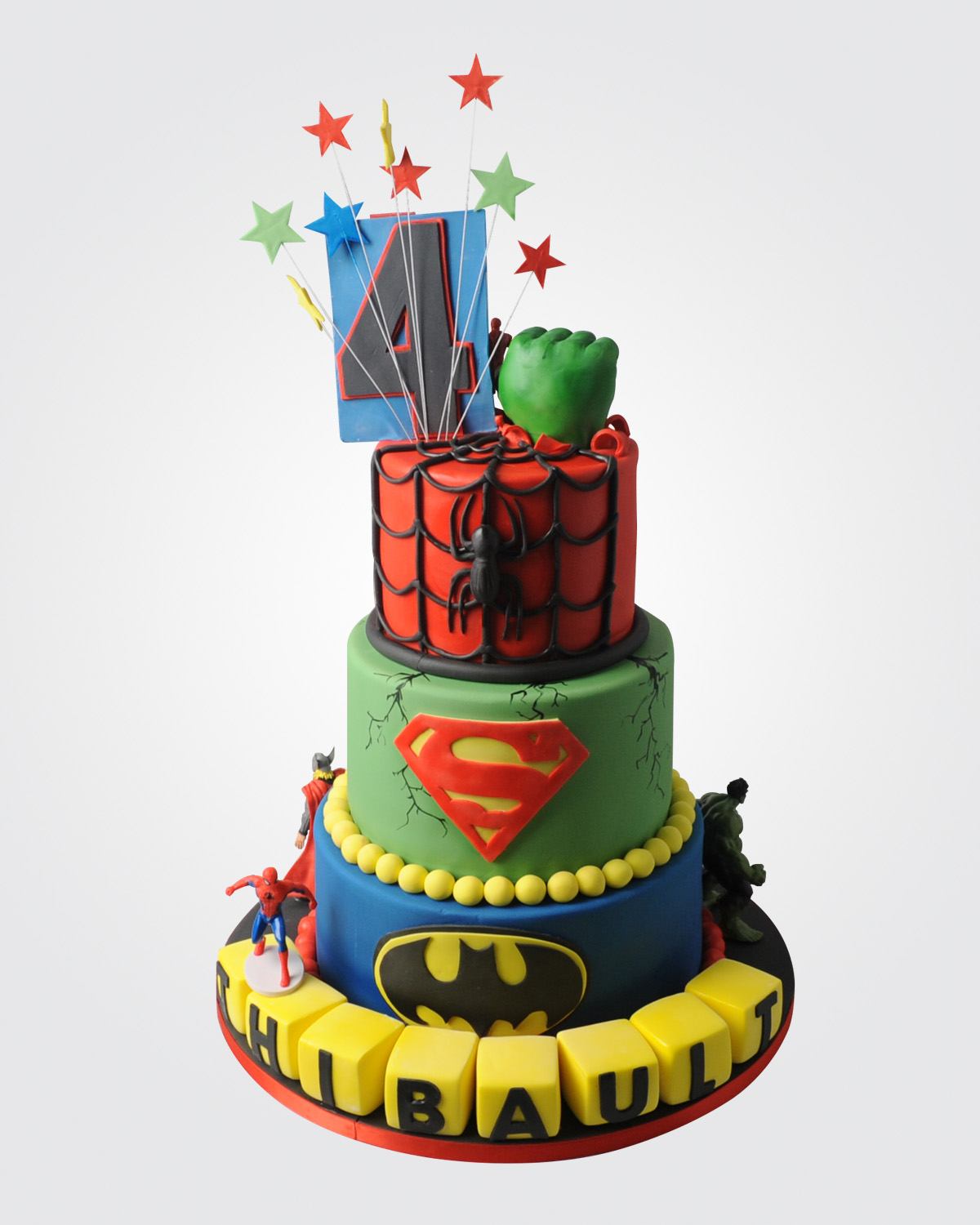 Superhero Cake SP2257