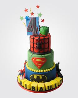 Superhero Cake SP2257
