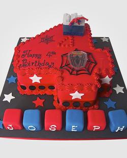 Spiderman Cake AN1201