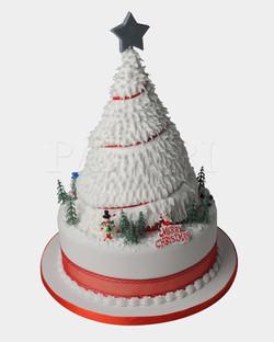 Christmas Tree Cake CS4255