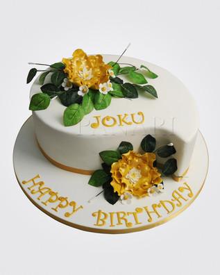 Peony Teardrop Cake CL0303