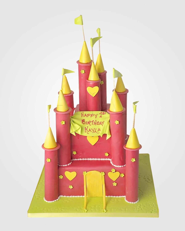 Castle Cake C8483