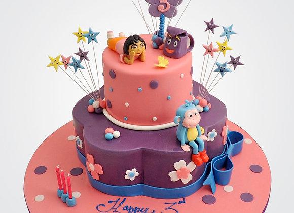 Star Girl Cake CG0433