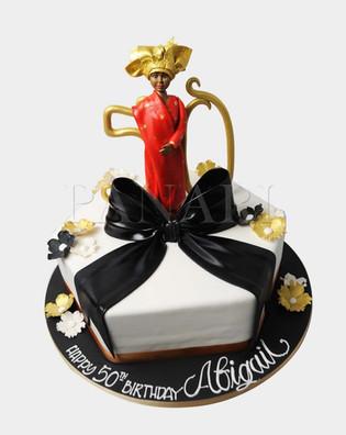 Nigerian Lady Cake CL2004