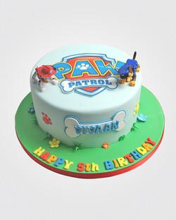 Paw Patrol Cake PW9346