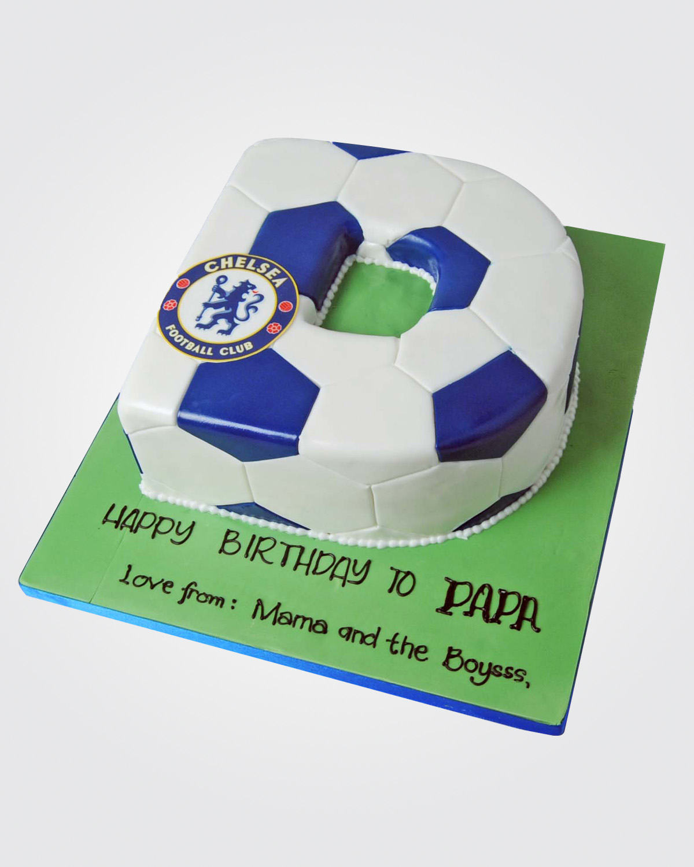 Chelsea Alphabet Cake SPH0551