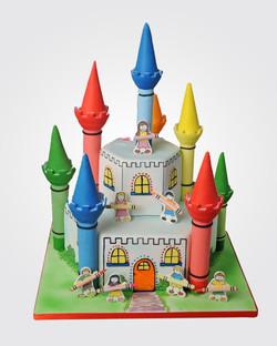 Castle Cake C2727