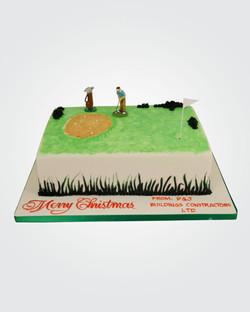 Golf Cake 7078