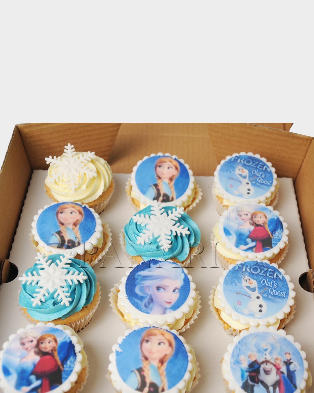 Frozen Cupcakes CP4311