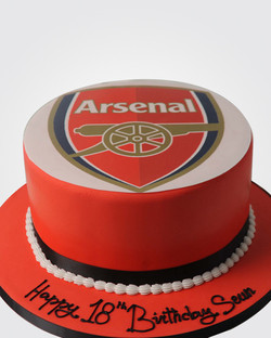 Arsenal Cake SPH0002