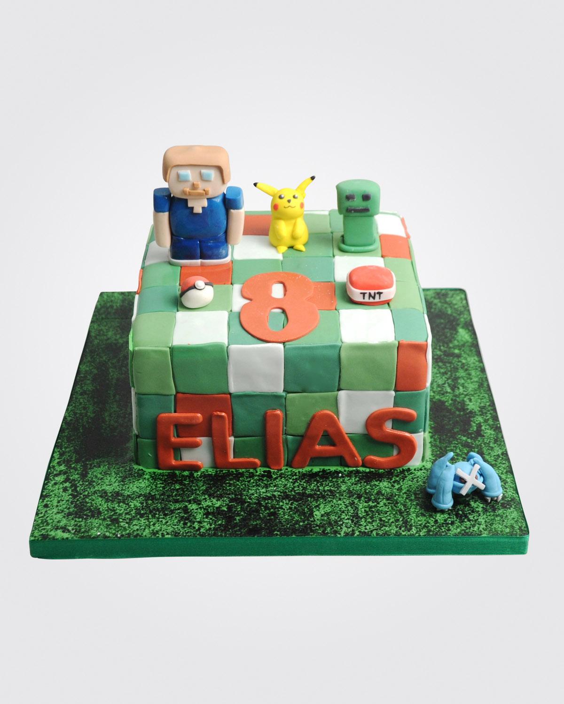 Minecraft Cake SP4609