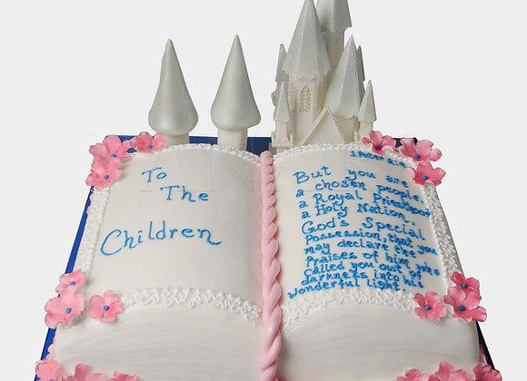 Fairytale Book Cake BK0007