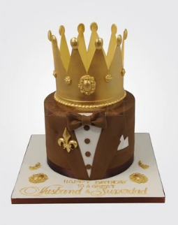 Crowned Tux Cake CM0620.png