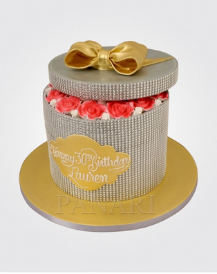 Diamante Rose Cake CL3554