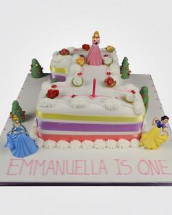 Princess Number Cake An033