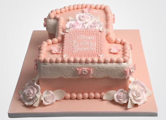 1st Birthday Cake CG9422