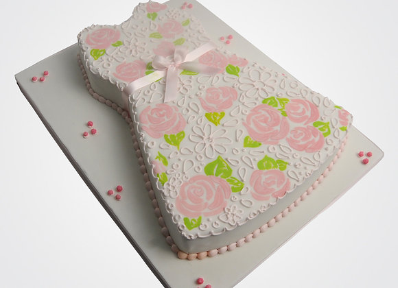 Christening Dress Cake CG0725