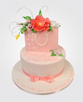 Blush Peony Cake CL6820