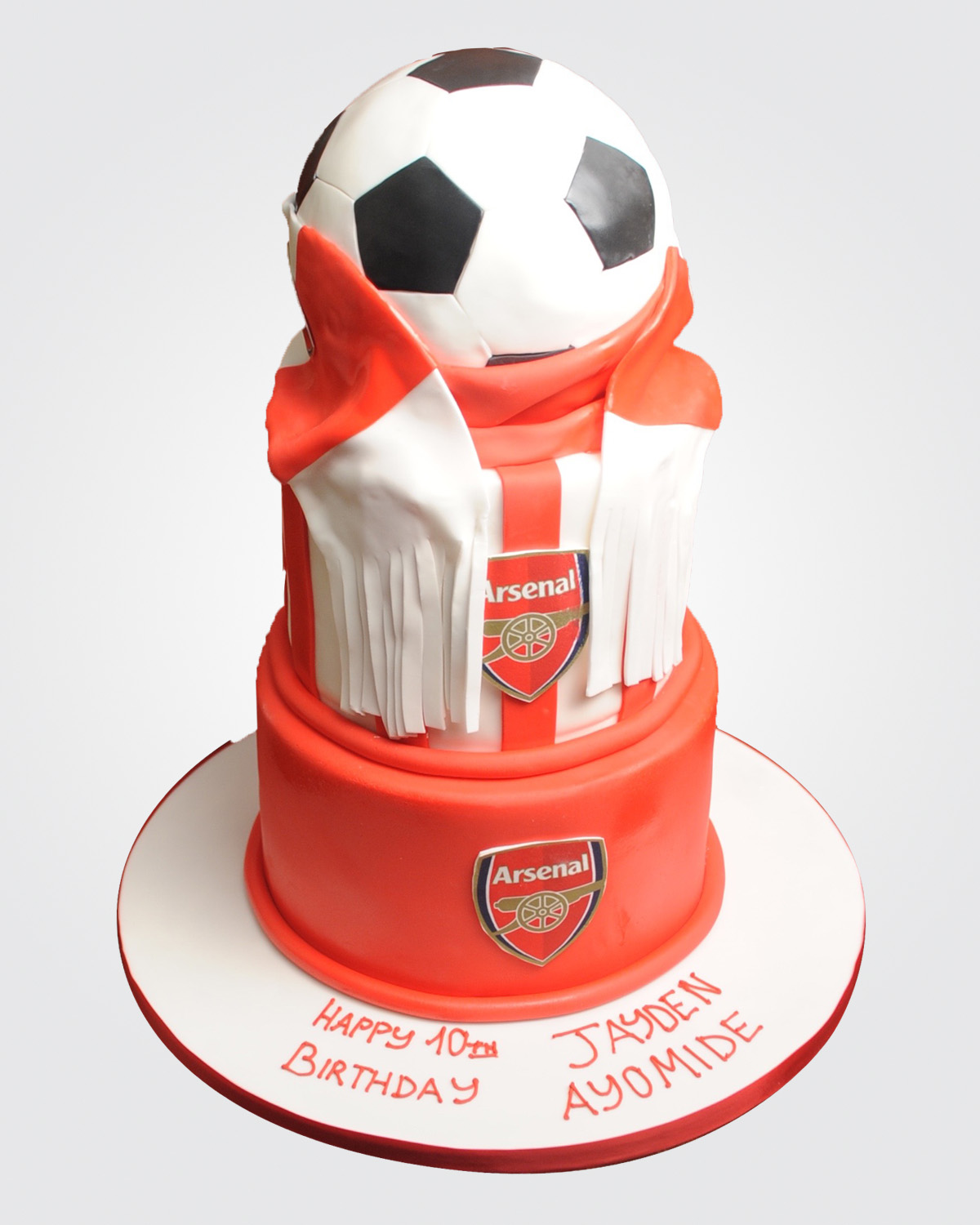Arsenal Tiered Cake SPH0775