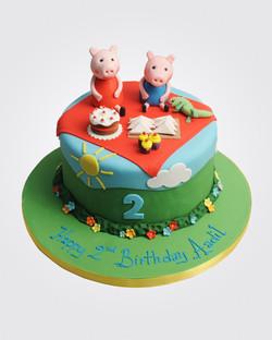 Peppa Pig Cake PE1761