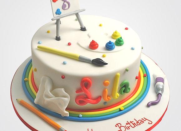 Little Artist Cake CG9337