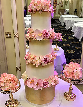Gold Wedding Cake WC5688