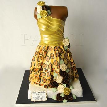 Dress Cake CL6881