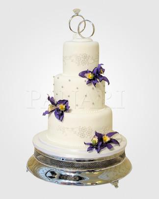 Lila Orchid Wedding Cake WC0929.jpg
