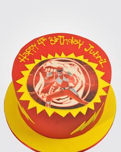 Power Rangers Cake SP0922