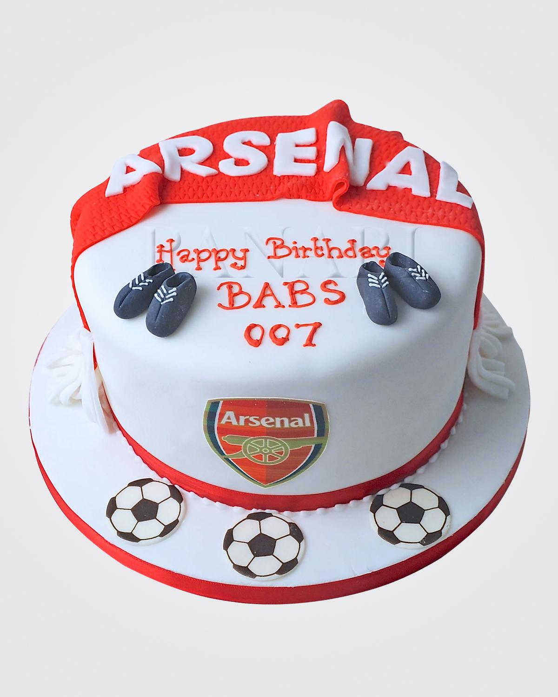 Arsenal Cake SPH0889