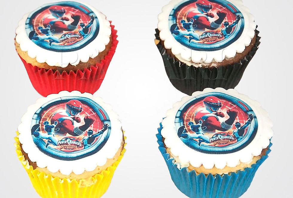 12 Superhero Cupcakes CP0242
