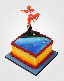 Power Rangers Cake SP0032