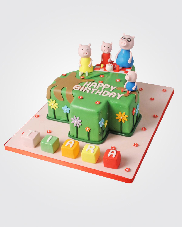 Peppa Pig Cake  PE7542
