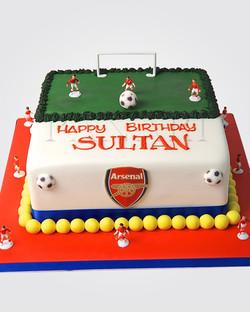 Arsenal Cake SPH9966