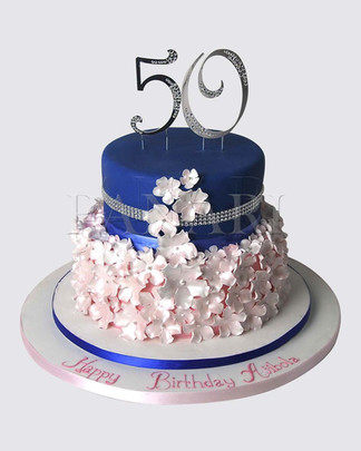 50th Birthday Cake CL2808