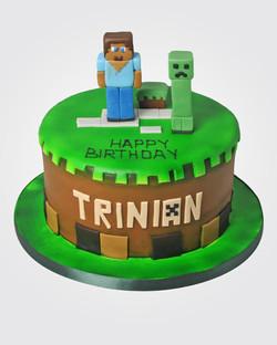 Minecraft Cake MC2641