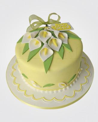Calla Lily Cake CL0491