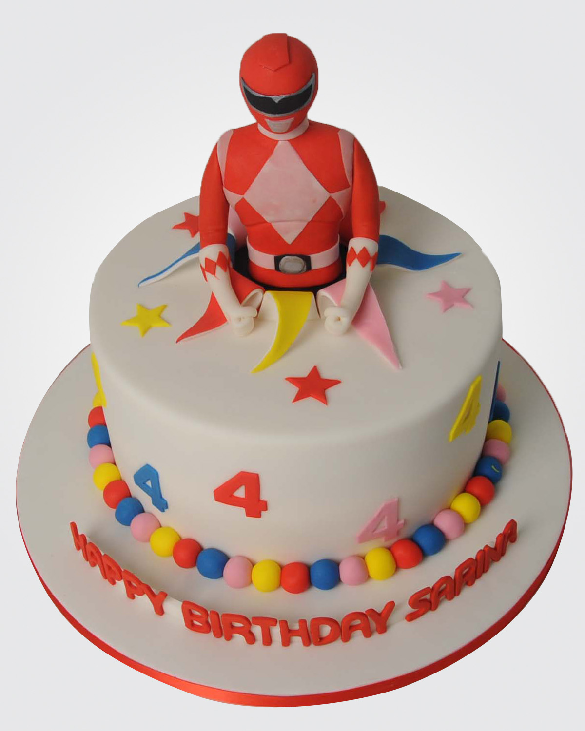 Power Rangers Cake SP2539