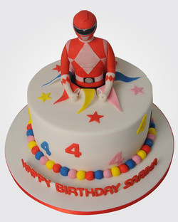 Power Rangers Cake SP2539
