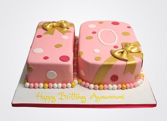 10th Birthday Cake AN3110