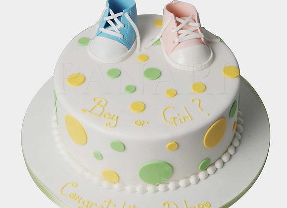 Gender Reveal Cake CHB3344