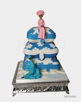 Cushion Wedding Cake AFC3455