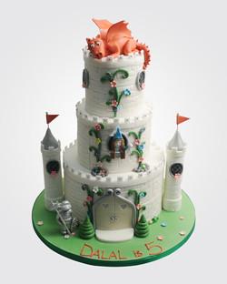 Dragon Castle cake PR2169