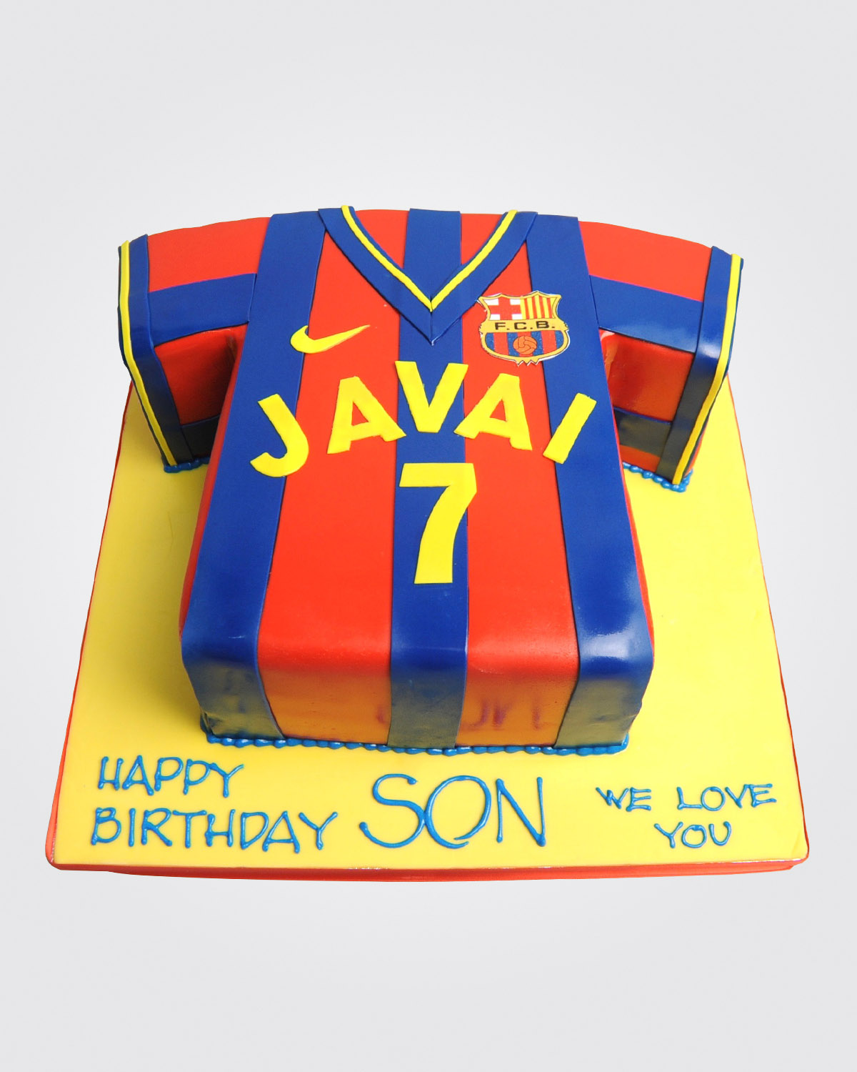 Football Tshirt Cake SPH3414