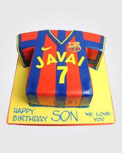 Football Tshirt Cake SPH3414